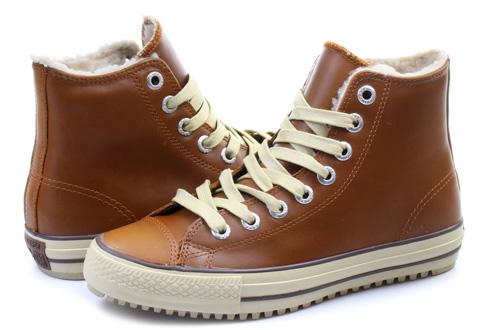 converse boty s kožíškem