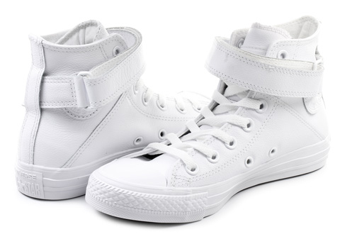 Converse Tenisky - Chuck Taylor All Star Brea Leather Hi ... aea79515638