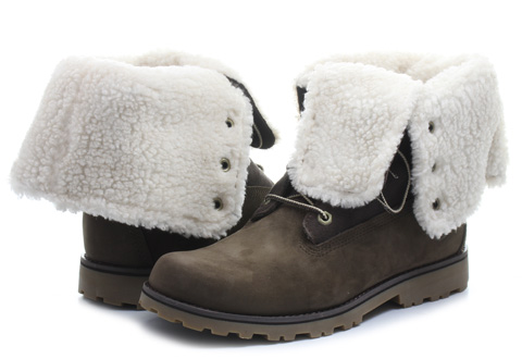 Timberland Boty - 6 inch Shearling Boot - a156y-brnTenisky b80d1970c3