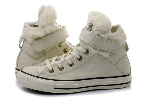 Converse Tenisky - Chuck Taylor All Star Brea Leather W Fur ... f84985f9e86
