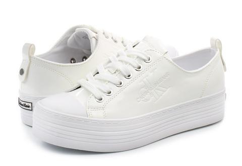 Calvin Klein Jeans Nízké boty - Zolah - RE9796-WHTTenisky 41718eab55